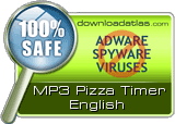 MP3 Pizza Timer is clean!